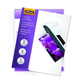 Fellowes Laminating Pouches, Thermal, ImageLast, Letter Size, 3 Mil, 25 Pack - 5200501