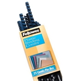 Fellowes 1/2in Navy Binding Combs (25 Pack)