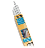 Fellowes 3/8 White Binding Combs (25-Pack)