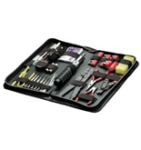 Fellowes 55-Piece Computer Tool Kit, Black (49106)