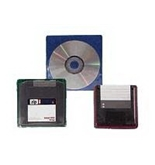 Fellowes 98315 Adhesive CD/DVD Holders, 5-Pack