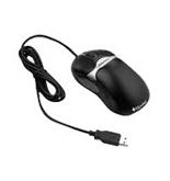 Fellowes 98913 Antimicrobial 5-Button Programmable Mouse (Black)