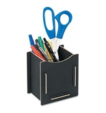 Fellowes Earth Series Pencil Cup, 3 1/4 x 4 x 4 1/4, Black - Sold As 1 Each