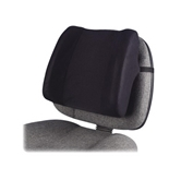 Fellowes High-Profile Backrest - 13- x 4- x 12- - Black