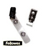Fellowes Laminating Pouch Accessories, ID Clip, 100 Pack (52055)