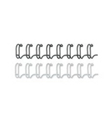 Fellowes 52323 Plastic Comb Bindings, 1/2 Diameter