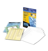 Fellowes Self-Adhesive Sheets, Letter Size, 3 mil, 10 Pack (5221501)