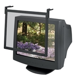 "Fellowes Standard Filter Trad Tint - 19/21"" Black Frame"