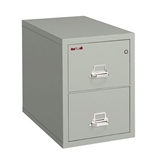 Fireproof Two Drawer Legal Size Vertical File 31-D Platinum