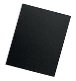 Fellowes Binding Presentation Covers, Letter, Black, 25 Pack - 5224901