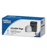 140704 Part# 140704 Shredder Bags 15 Gallons Clear 25/Pk from Office Depot