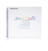 Memorex Slim CD/DVD 5mm 100-Pack Jewel Cases