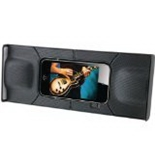 GPX GPXSP300B iPhone/iPod touch Travel Speaker-Speakers - Retail Packaging - Black