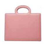 Grandluxe Mademoiselle Executive PU Leather Organiser Pink, 8.3 x 5.8-Inches (232474PK)