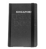 Grandluxe Singapore Monologue Travel Book, 3.5 x 5.5 Inches