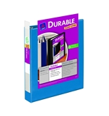 Avery Durable View Binder with 1.5 inch Rings, Dark Blue, 1 Binder (17834)