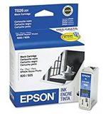 Epson Black Ink Cartridge - Inkjet - 500 Page - Black - 1