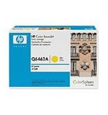 Hewlett Packard (HP) HPQ6462A OEM Laserjet: Yellow Yields 12,000 Pages