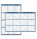 House of Doolittle Write-On/Wipe-Off Academic July 2012 to June 2013 Wall Planner 24 x 37 Inches Vertical and Horizontal Formats Recycled (HOD395)