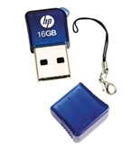 HP v165w 16 GB USB 2.0 Flash Drive P-FD16GHP165-EF (Blue)