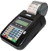Hypercom T7 Plus 19 Key Credit Card Terminal/Printer