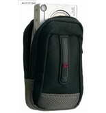 Icon ALCS107-BLK Small Point and Shoot Camera Case (Black)