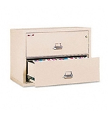 Insulated Two-Drawer Lateral File