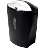 INTEK EMBASSY TQ80Bc 8 Sheet Quiet Series Diamond-Cut™ Shredder