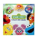 International Greetings, USA 2013 Sesame Street Wall Calendar (IG57274)