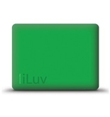 iPad MAC DADDY Green iLuv Silicone Case  #ICC801-GRN