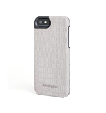 Kensington Vesto Leather Texture Hardshell Case for iPhone 5 - 1 Pack, Grey Lizard - K39624WW