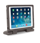 Kensington SafeGrip Rugged Case for iPad Air, Charcoal - K67808WW