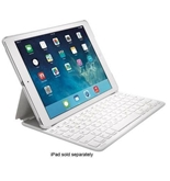 "Kensington K97248US White KeyFolio Thin X2 Keyboard/Cover Case (Folio) for 9.7"""" iPad Air - K97248US"
