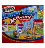 Keep Us Busy! Fold Out Rainy Day Activity Pack, Picture Puzzles, Word Puzzles, Flash Cards, Jokes, and More!
