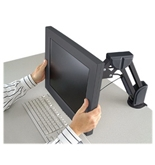 Kensington 60106 Desk-Mount Arm for Flat Panel Monitor (Black)