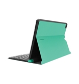 Kensington KeyFolio Exact with Removable Bluetooth Keyboard and Google Drive Offer for iPad Air (iPad 5), Emerald (K97094US)