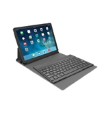 Kensington KeyFolio Exact with Removable Bluetooth Keyboard and Google Drive Offer for iPad Air (iPad 5), Blue (K97090US)