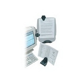 Kensington Monitor InSight? Plus Ergonomic Document Holder and Organizer (K62063B)