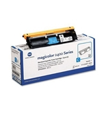 Konica Minolta Part # 1710587-003 OEM Cyan Toner Cartridge - 1, 500 Pages