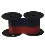 Lathem? Time 2-Color Replacement Ribbon for 1221 & 4001 Time Recorders, Blue/Red Ink