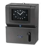 Lathem Manual Time Clock, Month/Date/Hours/Minute, Charcoal (LTH2101)