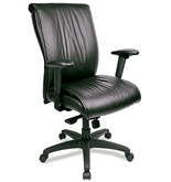 LEXINGTON-BLACK LE8300 LEATHER EXECUTIVE CHAIR