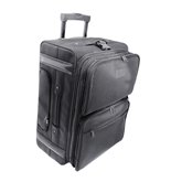 Kantek LGCC222 22-Inch Rolling Dual-Side Computer Case/Overnighter with Zippered Suit Carrier