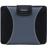 Kantek LGCC415G Neoprene Laptop Bag for up to 15.4-Inch Notebook Computers - Gray/Black