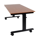 "Luxor 60"" Crank Adjustable Stand Up Desk Model Number- STANDCF60-BK/TK"