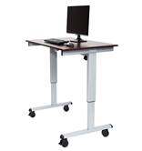 "Luxor 48"" Electric Standing Desk  Model Number- STANDE-48-AG/DW"