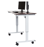 "Luxor 60"" Electric Standing Desk  Model Number- STANDE-60-AG/DW"