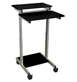 "Luxor 24"" Adjustable Stand Up Desk Model Number- STANDUP-24-B"