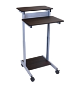 "Luxor 24"" Adjustable Stand Up Desk Model Number- STANDUP-24-DW"