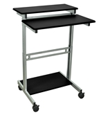 "Luxor 31.5"" Adjustable Stand Up Desk Model Number- STANDUP-31.5-B"
